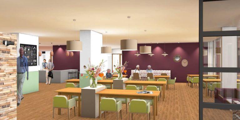 De Bunterhoek Interieur - Entree Restaurant Care Concept