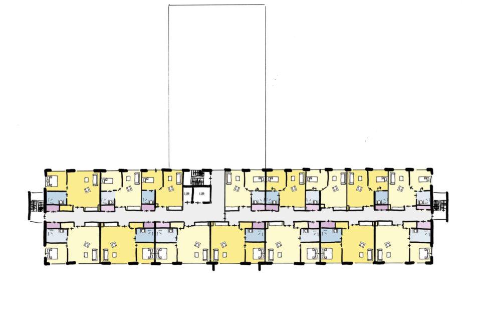 Julianakwartier Apeldoorn Fase 1 Care Concept 3e Verdieping