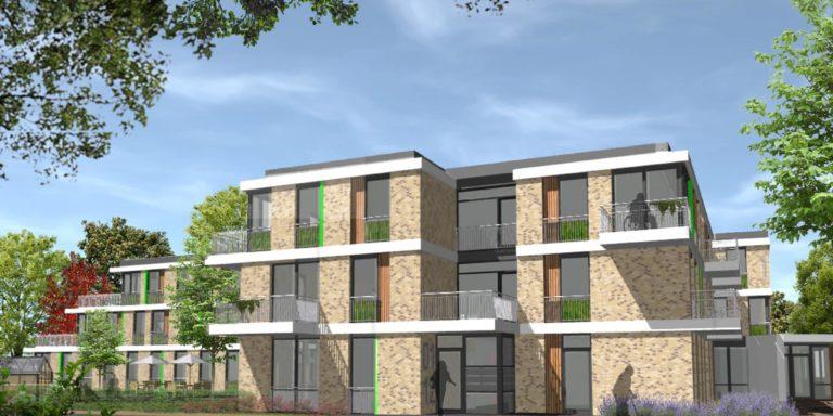 Impressie Klepperwei Te Rhoon Zicht Op VPT Appartementen Care Concept